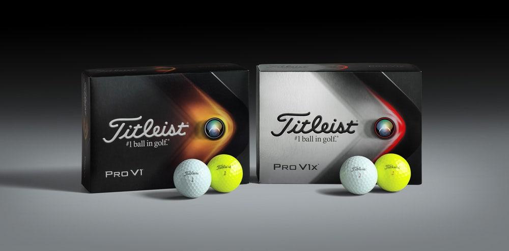 Enter the new 2021 Titleist Pro V1 and Pro V1x Golf Balls