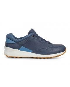 Ecco Womens Street Retro Shoe - Navy/Quarry