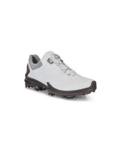 Ecco Mens Biom G3 BOA Shoe - Shadow White