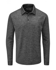 Under Armour Playoff 2.0 Long Sleeve Polo - Black