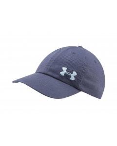 Under Armour Women's Cotton Golf Cap - Blue Ink