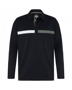 Sporte Leisure Dwane Long-Sleeve Polo - Black