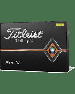 Titleist 2019 Pro V1 Golf Balls - Yellow