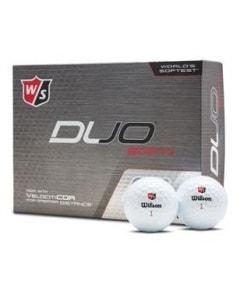 Wilson Staff Duo Soft Plus White Golf Balls