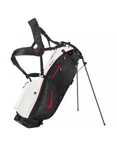 Nike Sport Lite Stand Bag - Platinum/Black/Red