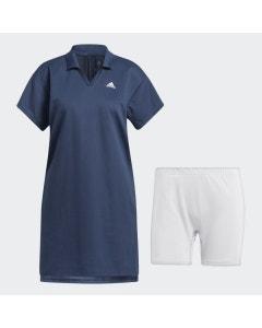 Adidas Women's 3 Stripe Dress - Navy