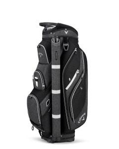 Callaway Forrester 2.0 Cart Bag 19 - Black/Silver