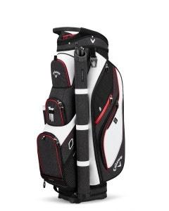 Callaway Forrester 2.0 Cart Bag 19 - White/Black/Red
