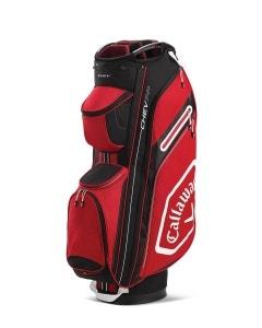 Callaway Chev 14+ Cart Bag - Cardinal/Black/White
