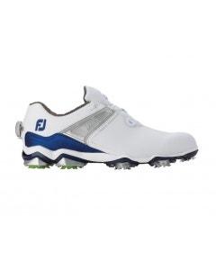 FootJoy Mens Tour X BOA Shoe - White/Navy/Lime