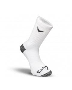 Callaway Sport Crew 3 Pack Socks - White