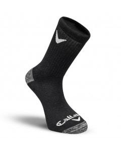 Callaway Sport Crew 3 Pack Socks - Black