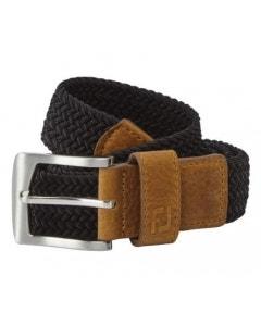 FootJoy Braided Belt - Black