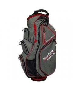 Tour Edge Exotics EXS Xtreme 7.0 Cart Bag - Heather/Red/White