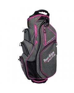 Tour Edge Exotics EXS Xtreme 7.0 Cart Bag - Heather/Pink/White