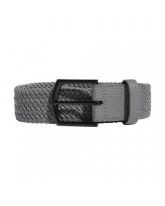 Adidas Unisex Braided Stretch Belt - Grey