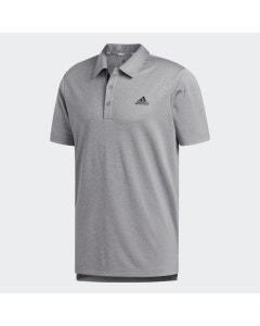 Adidas Advantage Novelty Heathered Polo - Grey