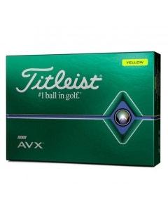 Titleist 2020 AVX Golf Balls - Yellow