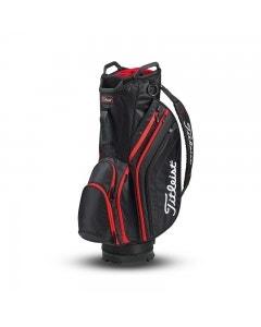 Titleist Lightweight Cart Bag - Black/Red