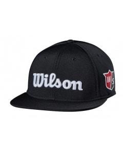 Wilson Staff Tour Flat Brim Cap - Black