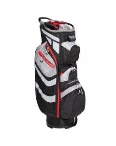 Tour Edge Hot Launch 5 Cart Bag - Black/Red