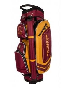 NRL Deluxe Cart Bag - Broncos