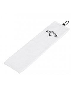 Callaway Tri-Fold Towel - White