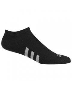 Adidas No-Show Socks 3 Pairs - Black