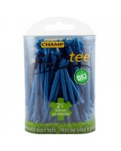 """Champ Fly Tee 2 3/4"""" Golf Tee - Blue 30pk"""