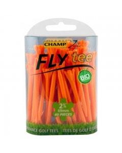 "Champ Fly Tee 2 3/4"" Golf Tee - Orange 30pk"