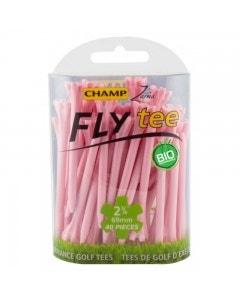 "Champ Fly Tee 2 3/4"" Golf Tee - Pink 30pk"