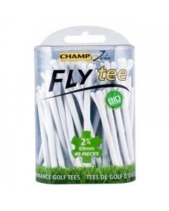 "Champ Fly Tee 2 3/4"" Golf Tee - White 30pk"