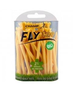 """Champ Fly Tee 2 3/4"""" Golf Tee - Yellow 30pk"""