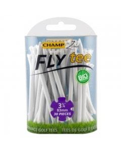 "Champ Fly Tee 3 1/4"" Golf Tee - White 25pk"