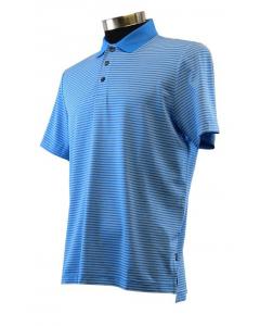 Calvin Klein Mens Mini Stripe Polo - French Blue
