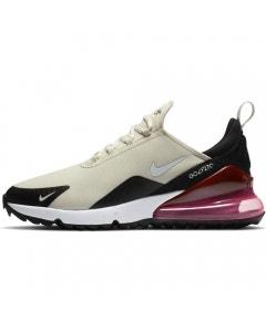 Nike Air Max 270 G Golf Shoes - Light Bone/White