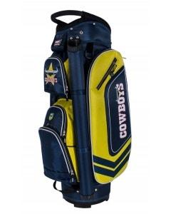 NRL Deluxe Cart Bag - Cowboys