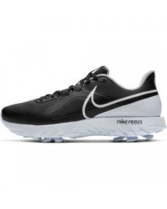 Nike React Infinity Pro Golf Shoes - Black/White/Platinum