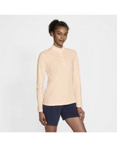 Nike DF UV Victory Long-Sleeve Slim Women's Top - Crimson Tint