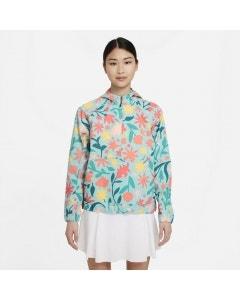 Nike Repel Print Anorak Women's Jacket - Dew/Mango