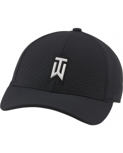 Nike Tiger Woods Aerobill H86 Performance Cap - Black/White