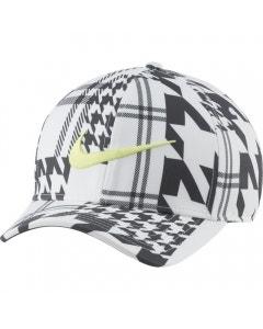 Nike DF Aerobill CLC99 Printed Cap - White/Anthracite/Light Lemon Twist
