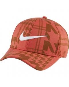 Nike DF Aerobill CLC99 Printed Cap - Track Red/White