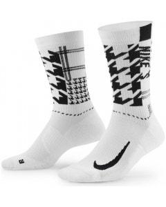 Nike Multiplayer Crew Sock - White/Black/Light Lemon Twist