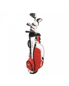 Wilson Deep Red Junior Golf Package - Large