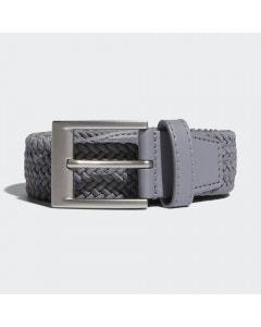 Adidas Braided Stretch Belt - Grey