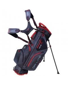 Big Max Dri Lite Hybrid Stand Bag - Charcoal/Black/Red