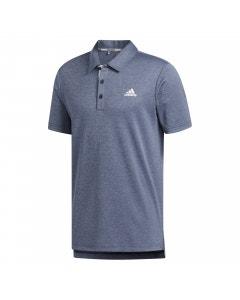 Adidas Advantage Novelty Heathered Polo - Navy