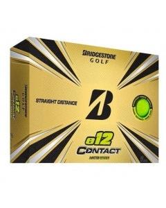 Bridgestone 2021 E12 Contact Golf Balls - Green