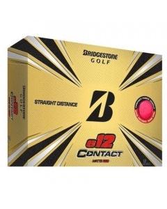 Bridgestone 2021 E12 Contact Golf Balls - Red